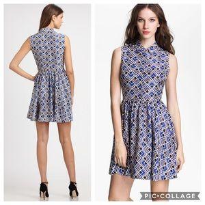 NWT Kate Spade Lora Print Dress Deco Darling